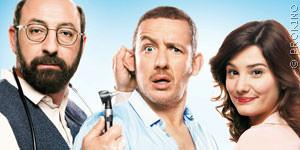 Kad Merad, Dany Boon und Alice Pol auf dem Filmplakat zu Super Hypochonder, FILM.TV