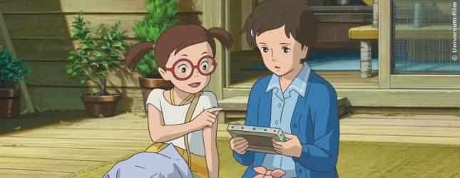 Anna und Sayaka finden das Tagebuch von Marnie.