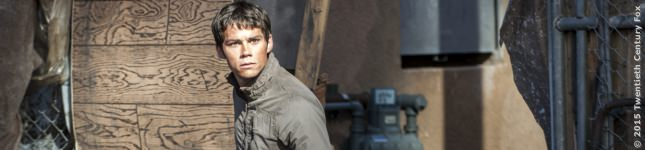 Dylan OBrien in Maze Runner 2, FILM.TV