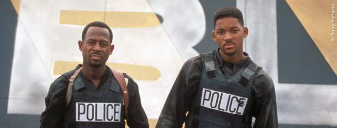 Will Smith und Martin Lawrence sind die Bad Boys