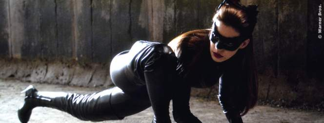 Anne Hathaway als Catwoman in The Dark Knight Rises