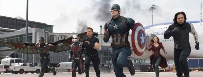 Die Avengers in The First Avenger