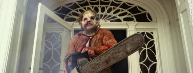 Leatherface aus Texas Chainsaw Massacre