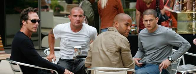 Die Stars der Erfolgsserie Prison Break
