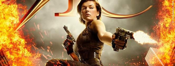Milla Jovovich als Alice in Resident Evil 6
