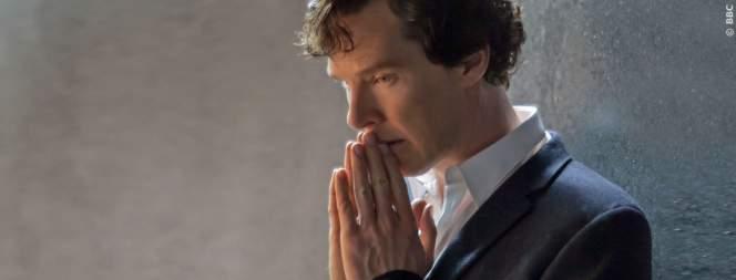 Sherlock und Watson in der BBC Serie.