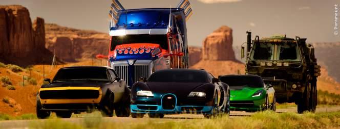 Die Autobots aus Transformers