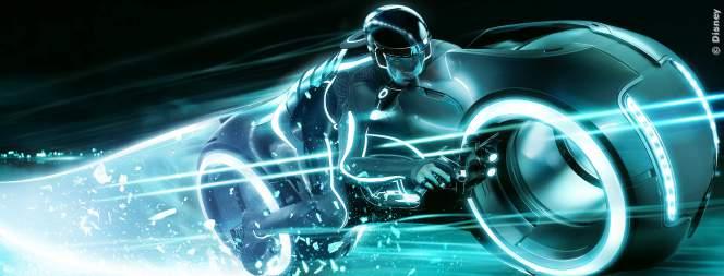 Tron - rasend schnell in der digitalen Welt.