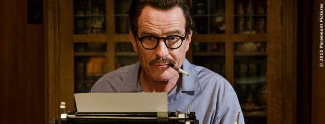 Der Oscar-prämierte Drehbuchautor Dalton Trumbo (Bryan Cranston)
