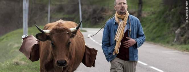 Fatah und seine Kuh Jacqueline machen sich zu Fuß auf den Weg von Algerien nach Frankreich.