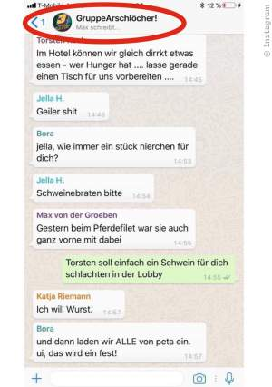 Fack Ju Göhte 3: Privater Chat der Darsteller aufgetaucht - Bild 1 von 1