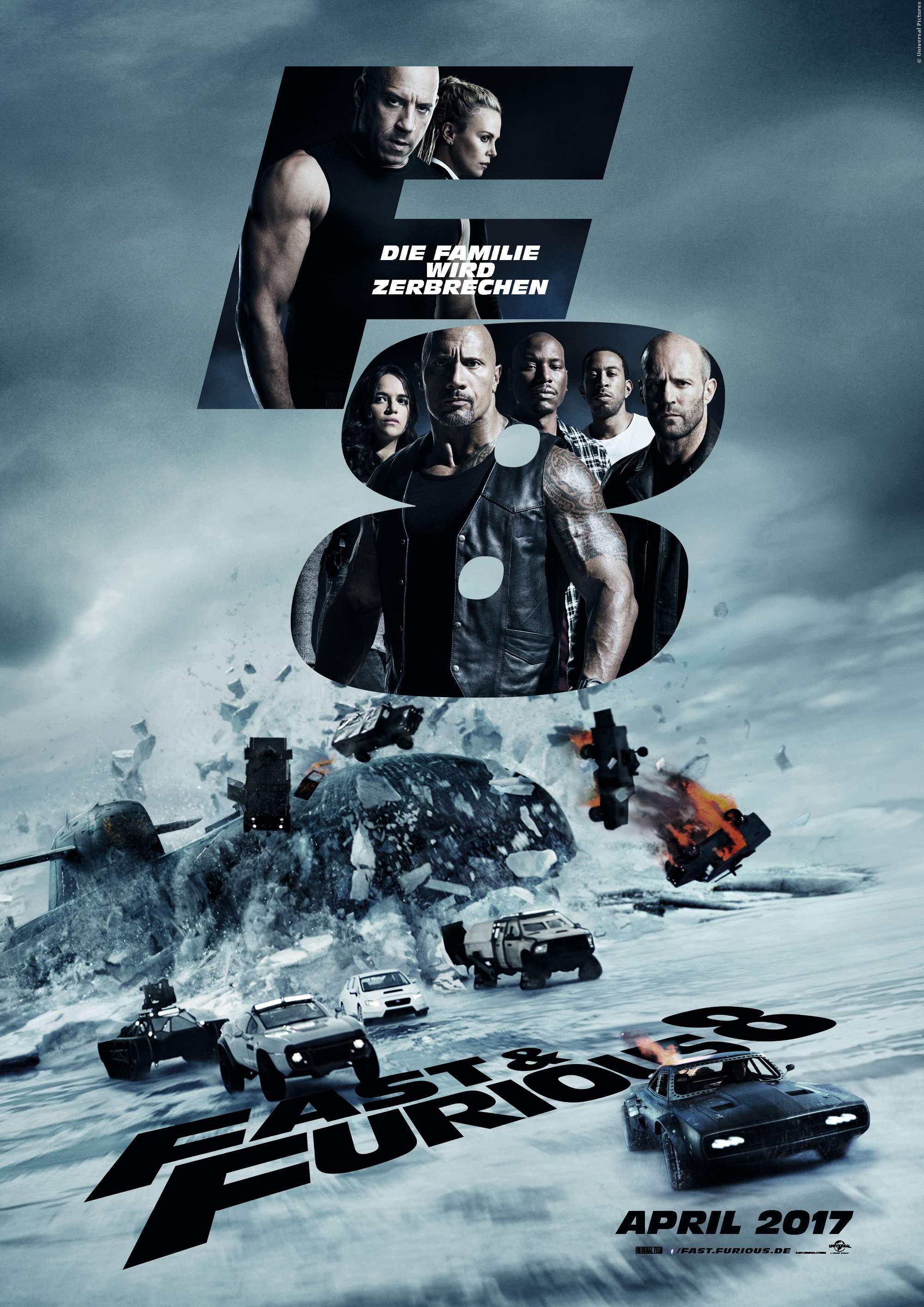 Fast And Furious 8-einhalb: Spin-Off mit Dwayne Johnson und Jason Staham kommt - Bild 1 von 1