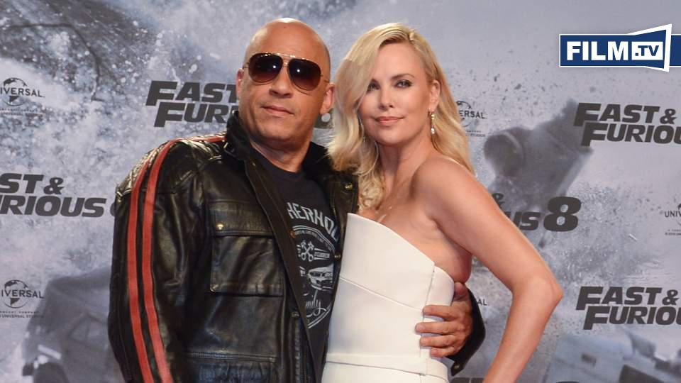 fast and furious 8 premiere vin diesel und charlize. Black Bedroom Furniture Sets. Home Design Ideas