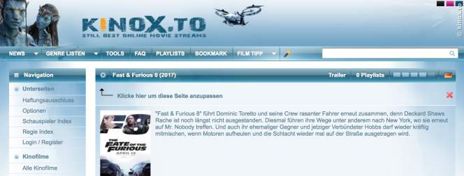 Kinox.to: Diese Streaminganbieter sind verboten