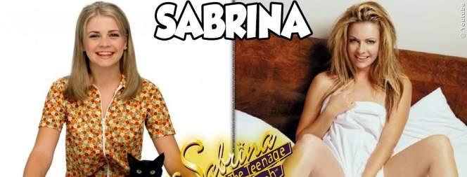 Sabrina Und Die Zauberhexen früher und heute