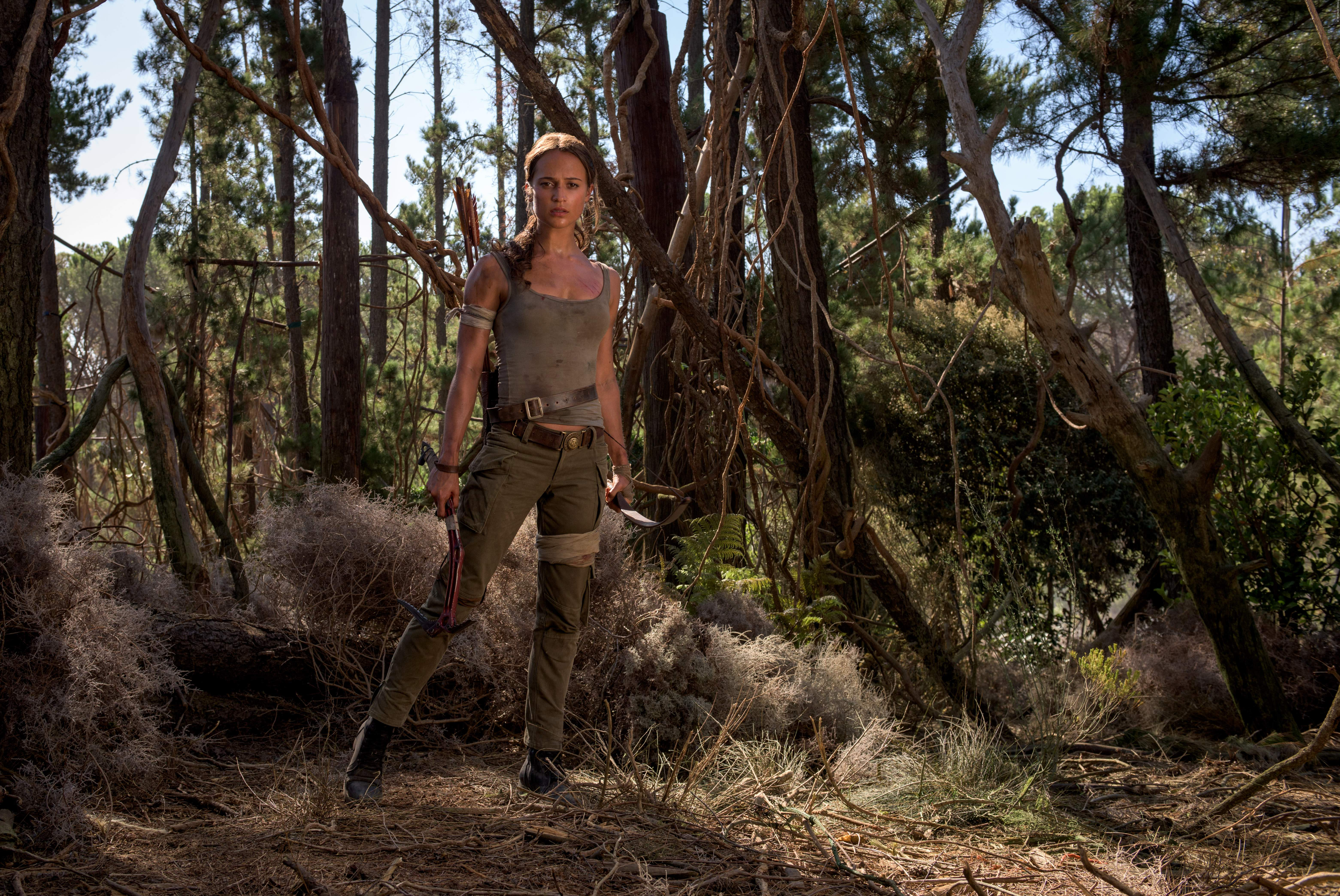 Tomb Raider Film 2018: Die ersten Bilder von Lara Croft - Bild 1 von 3