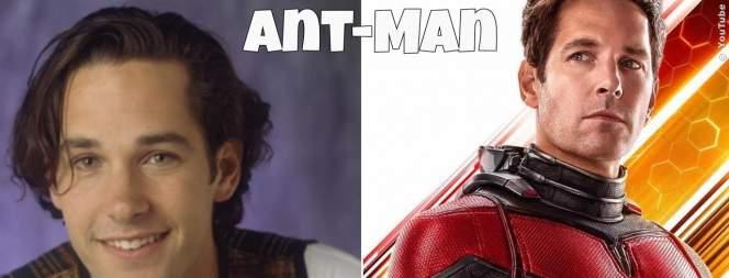 Ant-Man And The Wasp - Früher und heute