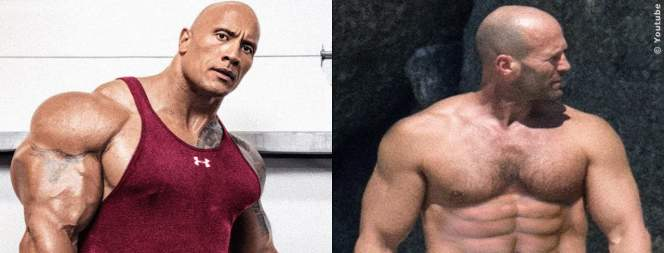 The Rock Vs Jason Statham Body Transformation