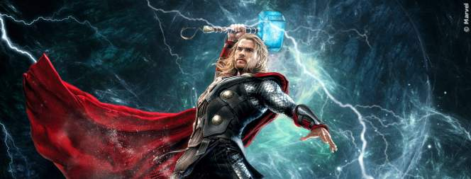 In Thor 4 reitet Chris Hemsworth auf Ziegen