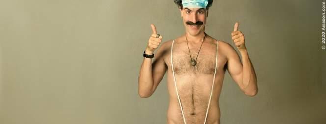 Borat 2: Sacha Baron Cohen trug kugelsichere Weste