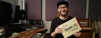 Mark Forster sendet live aus seinem Tonstudio im TV