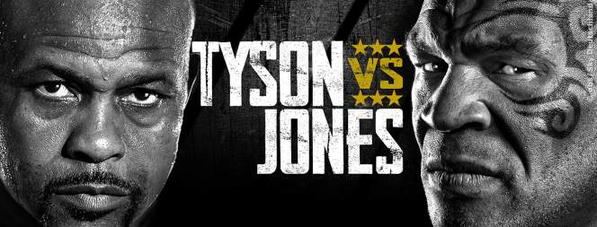 Mike Tyson gegen Roy Jones Jr.: der Showkampf