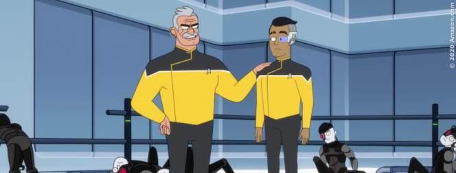 """""""Star Trek: Picard"""" und """"Star Trek: Lower Decks"""""""