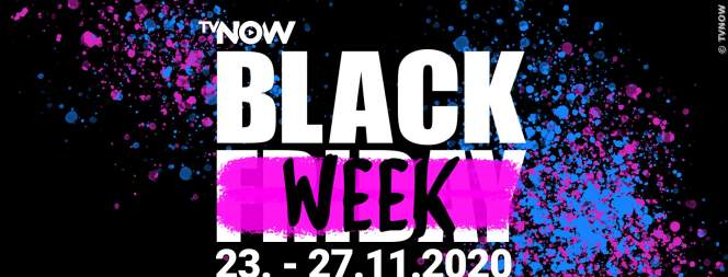 TVNOW Black Week: Streaming für alle