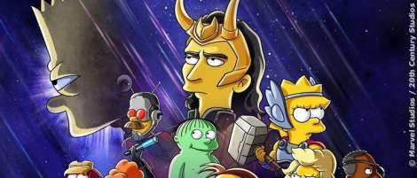 """""""Die Simpsons"""": Neuer Kurzfilm über Bart und Marvels Loki - News 2021"""