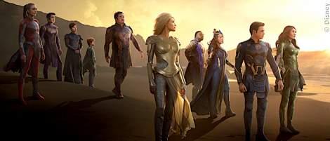 """""""Eternals"""" im MCU: Darum halfen sie den """"Avengers"""" nicht gegen Thanos - News 2021"""