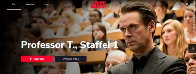 Krimirausch.de - Streamingportal für Krimisüchtige