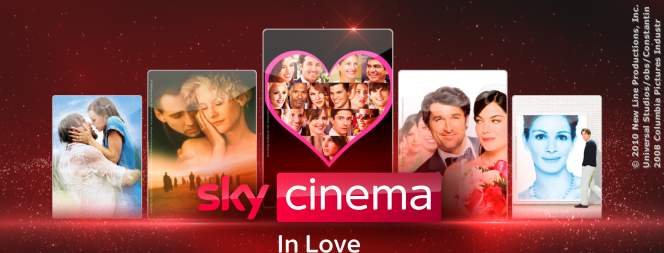 Sky Cinema In Love: Die schönsten Liebesfilme zum Valentinstag