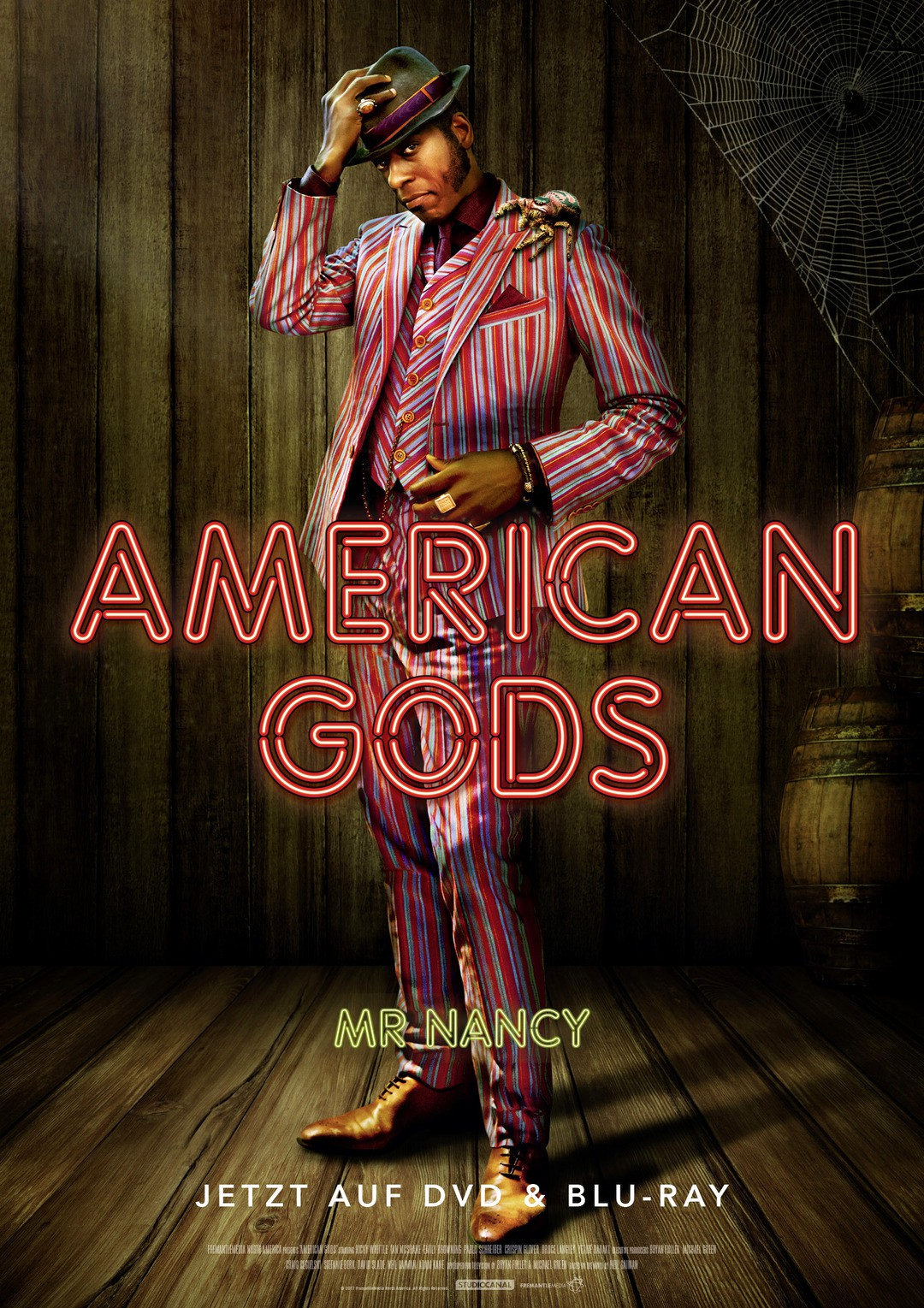 mr nancy anansi american gods das sind die g tter bild 5 von 40 trailerseite film tv. Black Bedroom Furniture Sets. Home Design Ideas