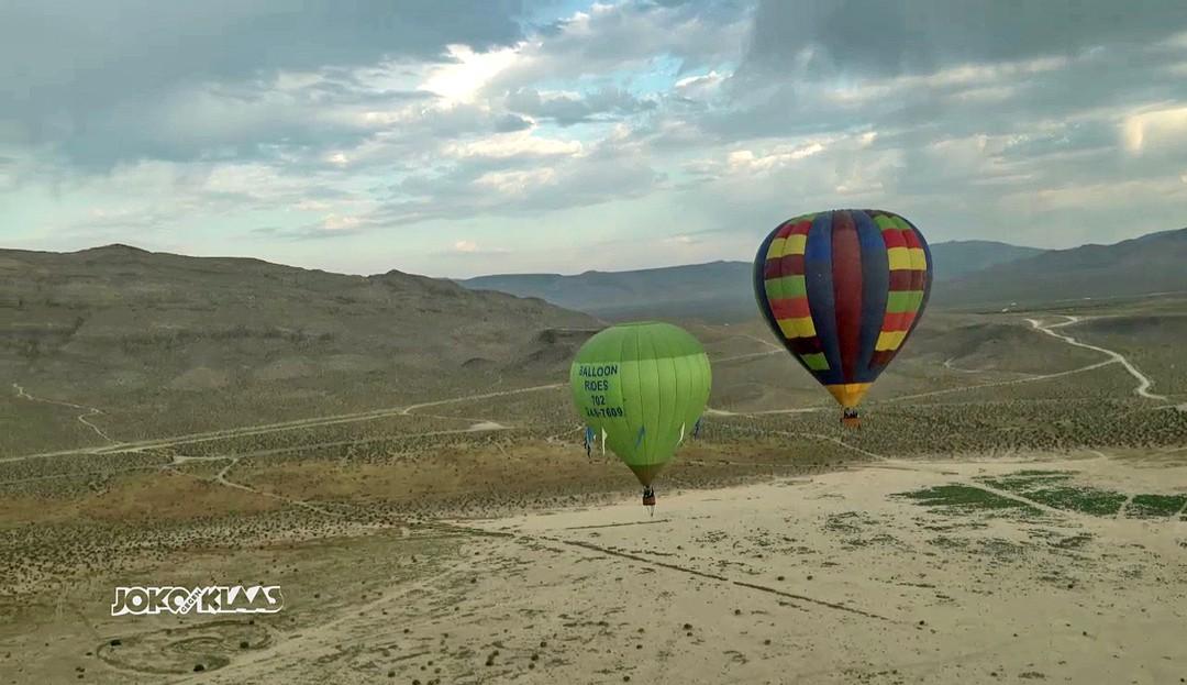 Freier Fall in der Wüste von Nevada: Joko gegen Klaas - Das Duell um die Welt - Bild 1 von 2