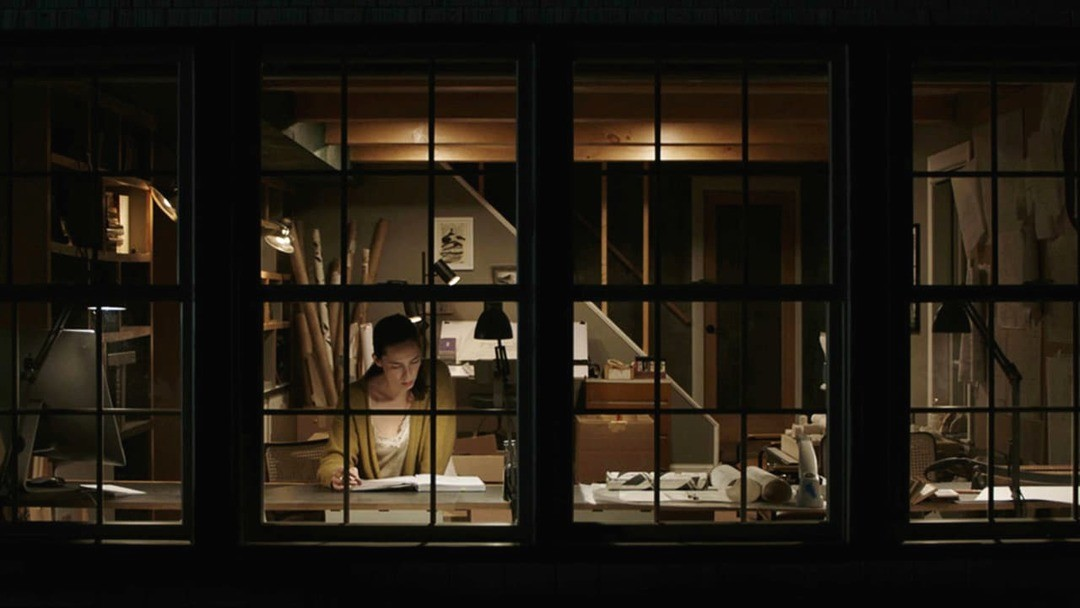 Bild zu The house at night